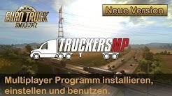 Wie spiele ich im Multiplayer bei ETS2 *Neu erklärt*(Installation von TruckersMP)