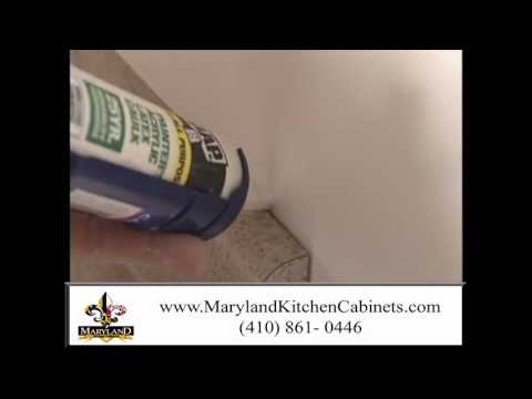 Incroyable Caulking Gaps   Homeowner How To   Maryland Kitchen Cabinets