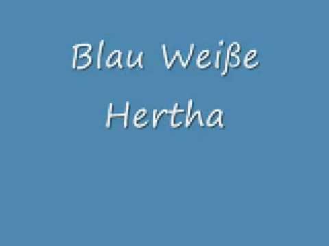 Hertha BSC M/ütze Bommel blau-Weiss