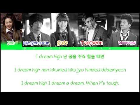 Dream High Love High Color Coded Lyrics HanRomEng