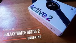 Samsung Galaxy Watch Active 2 unboxing
