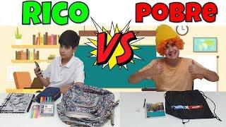 RICO VS POBRE VOLTA ÀS AULAS NO MEIO DO ANO - PEDRO MAIA