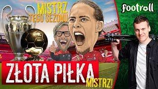 Złota Piłka - Van Dijk. Liga Mistrzów - Van Dijk.