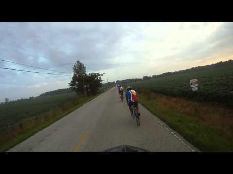 082414 Team Padyak Pinoy Bike Ride From Evansville To Princeton