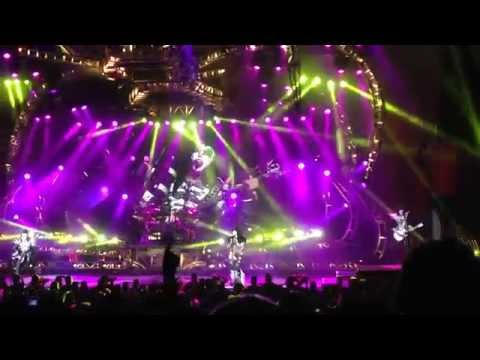KISS - Psycho Circus & Intro Live at Blossom Music Center 8-26-14