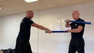 Kali stick fighting drills. Know your distance