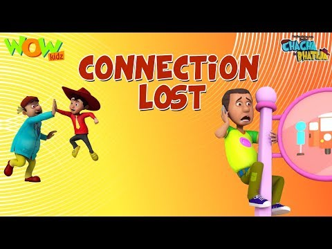 Connection Lost - Chacha Bhatija - 3D Animation Cartoon for Kids - As seen on Hungama