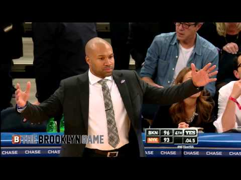 Derek Fisher's Time-Out Attempt Vs Nets Late-In-Game