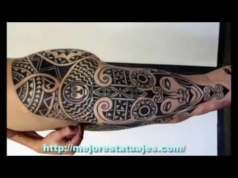 Los Mejores Tatuajes De Maories Youtube - Fotos-de-maories