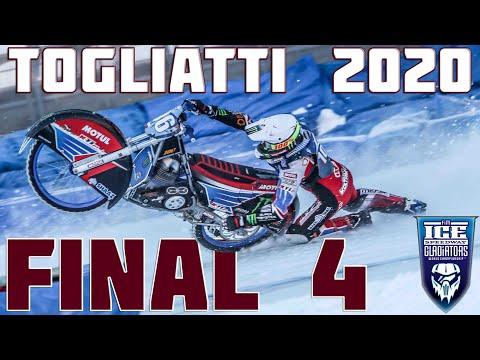 09.02.2020 Ice Speedway Gladiators World Championship 2020   FINAL 4 (Russia,Togliatti)   FULL RACE