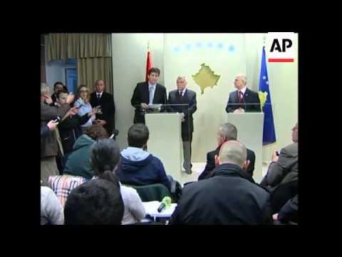 Croatia''s president Mesic visits Kosovo despite objections from Belgrade