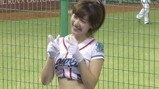 ラミガールズ 泱泱が超絶カワイイッ♥柏木由紀と渡辺麻友みたいな雰囲気の超美人なので心撃たれた(爆)惚れたw台湾プロ野球
