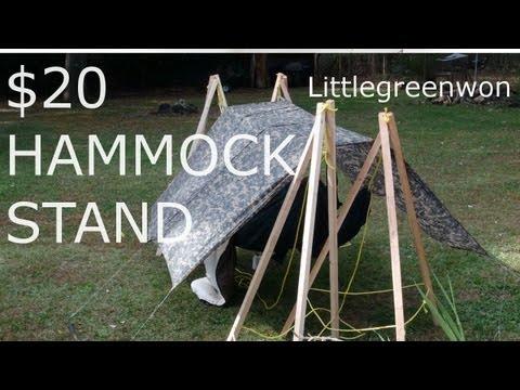 $20 DIY Hammock Stands