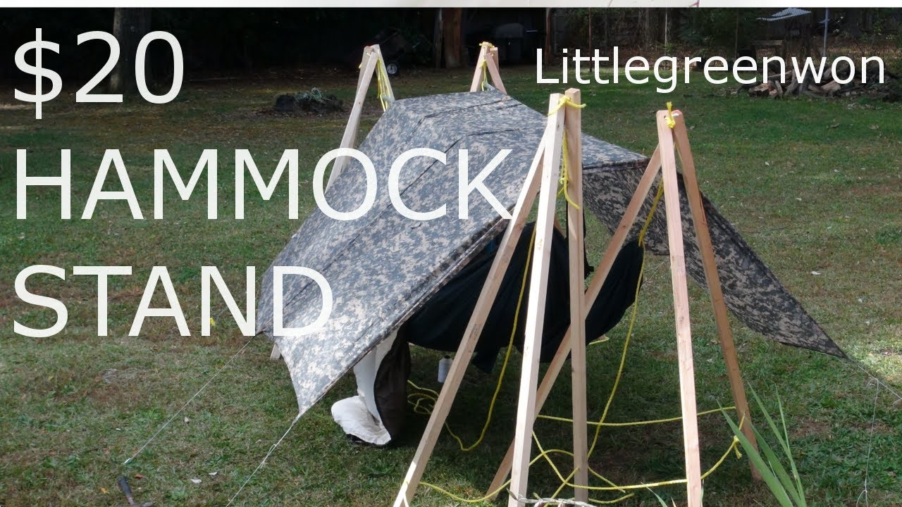 20 diy hammock stands   youtube  rh   youtube
