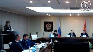Председатель правительства Тульской области Юрий Андрианов отчитал Дубинчук