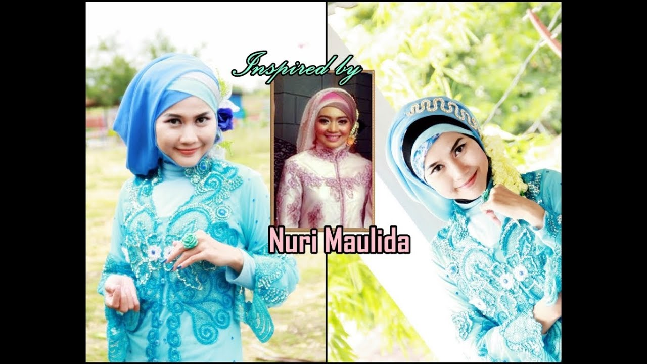 Tutorial Hijab Inspired by Nuri Maulida | Hijab Paris