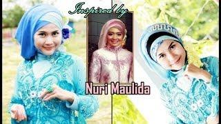 Tutorial Hijab Inspired by Nuri Maulida | Hijab Paris Cantik Untuk Pesta dan Wisuda - Part #38