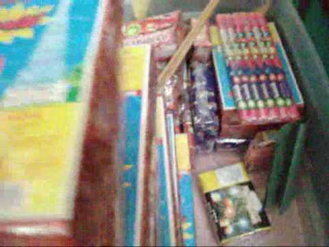 Fireworks for Memorial Day 2009 - about $100 dollars worth