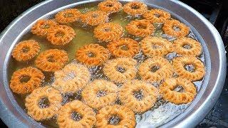 Traditional Sweet Item - Jangri Recipe - Easy and Yummy Jangiri Sweet Recipe