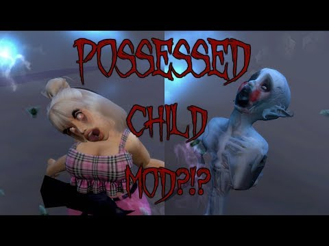 THIS MOD IS CREEPY AF! | POSSESSED CHILD MOD | THE SIMS 4