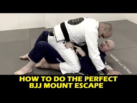 How To Do The Perfect BJJ Mount Escape by John Danaher