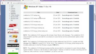 How to install code blocks in Hindi