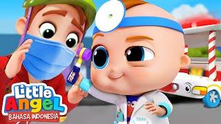 Dokter Bayi Akan Menyembuhkanmu! | Kartun Anak | Little Angel Bahasa Indonesia
