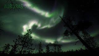 Auroras 27 9 2019 4K TIMELAPSE