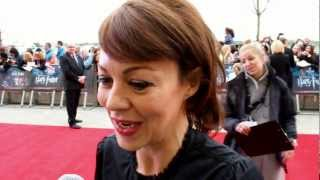 Helen McCrory Interview - Harry Potter Studio Tour Grand Opening