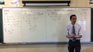 Solving Linear Equations w/ Brackets