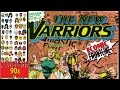 Marvelous 90s #1: New Warriors #1(1990) dedicated to Brant Fowler