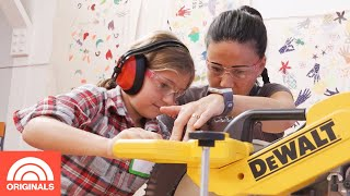 Girls Garage Teaches Young Girls How To Use Power Tools | TODAY Original