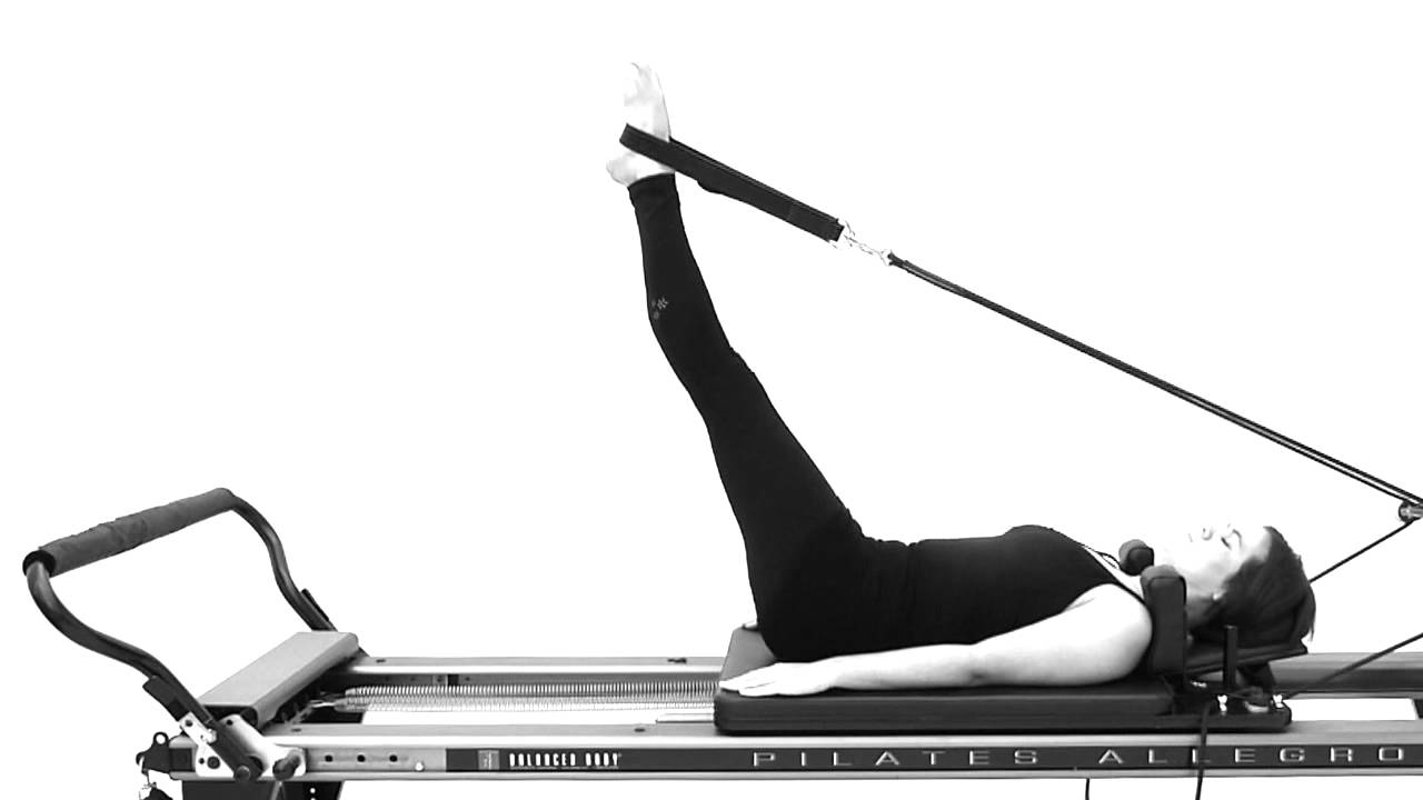 Equipment Based Pilates: Leg Lowers