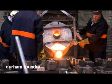 Durham Foundry - Cast Iron Castings - With Narrative