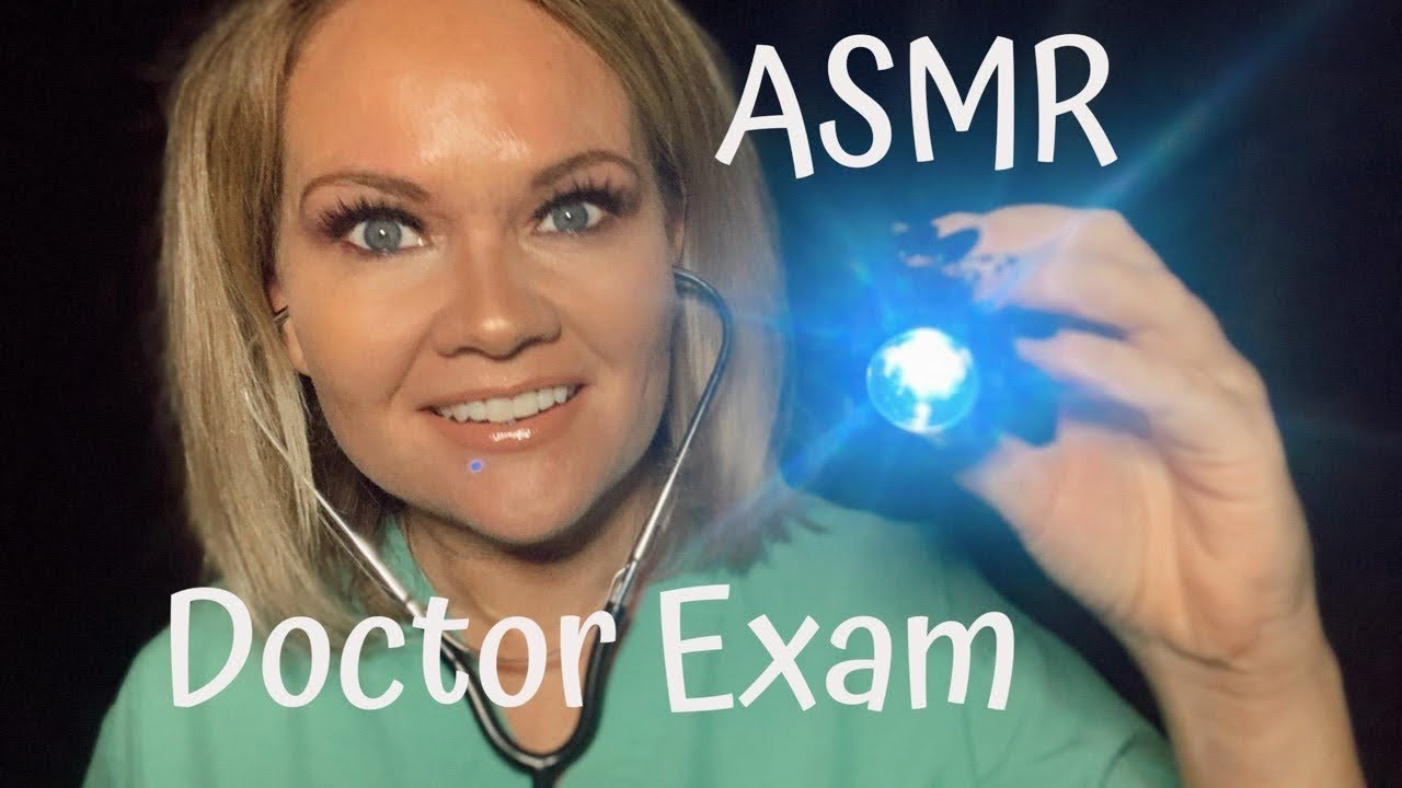 ASMR Doctor Role Play | Whispers | Light Triggers | Glove Sounds | #ASMR