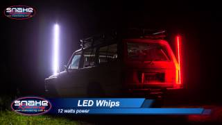 Video LED Whips 5 x Colours - 1 amp draw - Snake Racing download MP3, 3GP, MP4, WEBM, AVI, FLV Agustus 2018