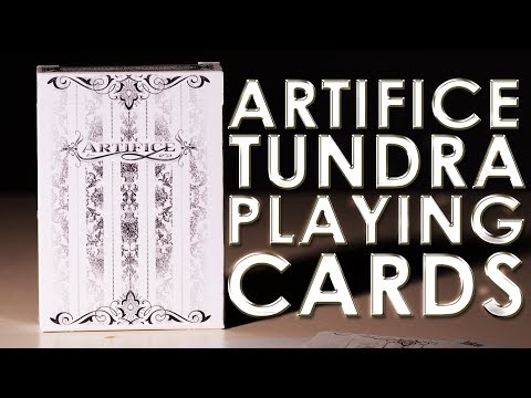Deck Review - Artifice Tundra Playing Cards Ellusionist [HD]