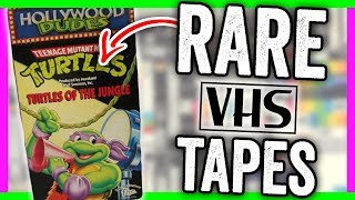 RARE VHS TAPES WORTH MONEY - VALUABLE MOVIES ON VHS!!