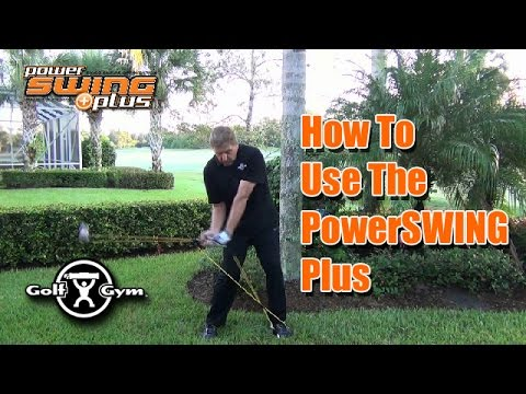 How To Use The GolfGym PowerSWING Plus Swing Trainer