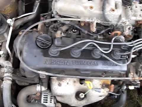 1995 Nissan Sentra XE startup and idle - YouTube