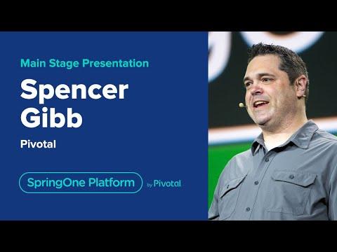 Spencer Gibb at SpringOne Platform 2019
