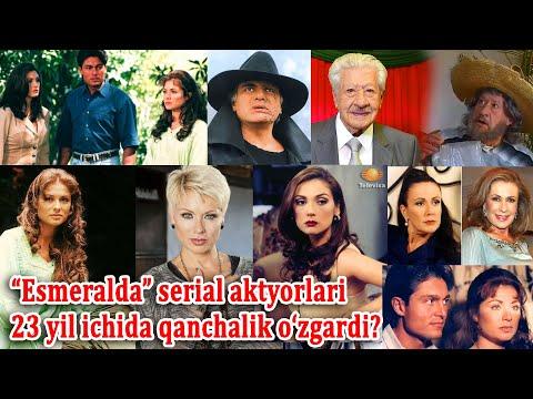"""""""Esmeralda"""" Serialiga 23yil Bo'ldi. O'tgan Vaqt Ichida Serial Qahramonlarining Taqdiri Qanday Kechdi"""