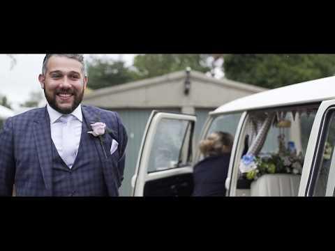 Tom & Charlotte wedding trailer @ Bo peep farm