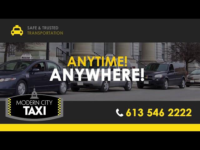 Creative Display - Modern Taxi