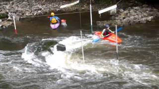 Hinckley Canoe Club -  WW Intro Matlock Part 2