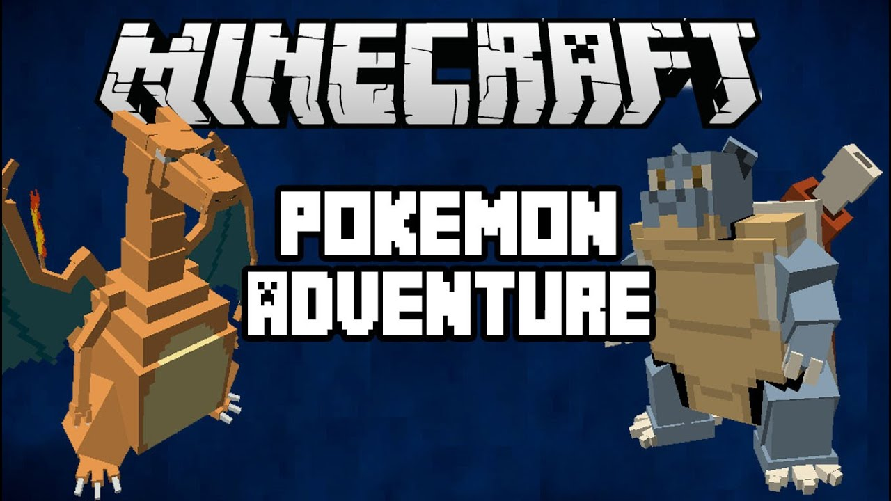 minecraft pe pokemon adventure map download