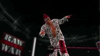 Grand Master Sexay makes his entrance in WWE