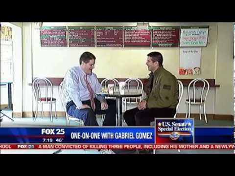 Gabriel Gomez Interview with Fox 25's VB