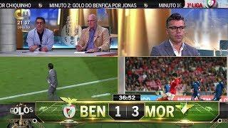 Benfica 1 x 3 Moreirense TODOS OS GOLOS (CMTV) 02 Novembro 2018