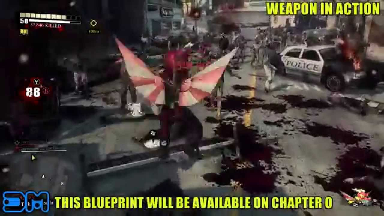 Dead rising 3 mecha dragon blade blueprint location youtube malvernweather Images